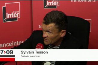 Sylvain Tesson, un écrivain libre qui parle de la Syrie