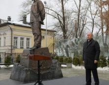 Vladimir Poutine a inauguré un monument en l'honneur de Soljenitsyne