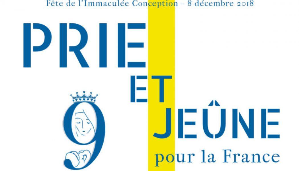 Le 8 décembre, prions la Vierge Marie pour la France