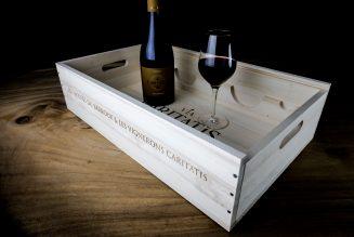 Un cadeau de Noël : le vin Via Caritatis