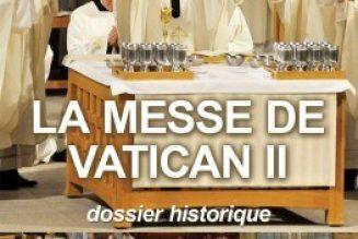 """La Messe issue du Concile Vatican II : quelle limite aux """"abus"""" ?"""