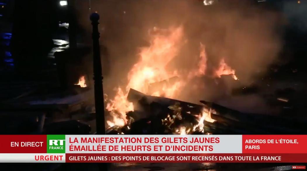 En direct : émeutes à Paris