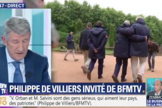 """Question identitaire : Philippe de Villiers prédisait à Emmanuel Macron d'être """"balayé"""""""
