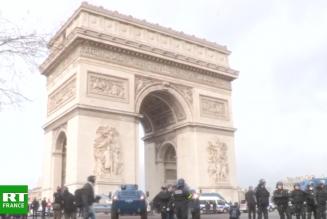 Les Gilets Jaunes à Paris : en direct