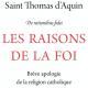 Les raisons de la foi par Saint-Thomas d'Aquin