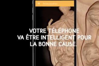 Votre téléphone va être intelligent pour la bonne cause !