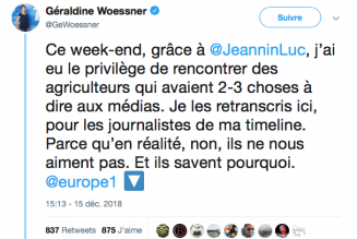 Pourquoi les agriculteurs détestent les journalistes