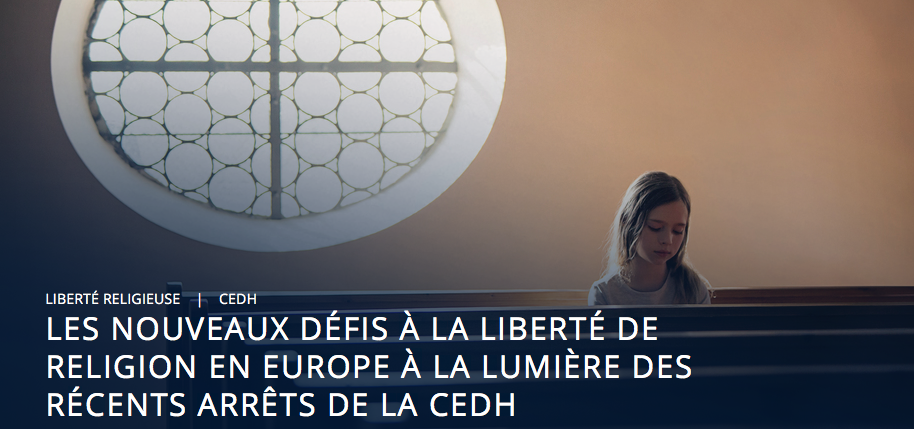 Incohérence de la jurisprudence de la CEDH, selon que les croyants offensés sont chrétiens ou musulmans
