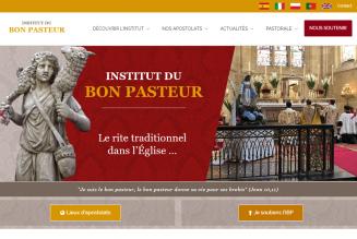 Un nouveau site internet pour l'Institut du Bon Pasteur