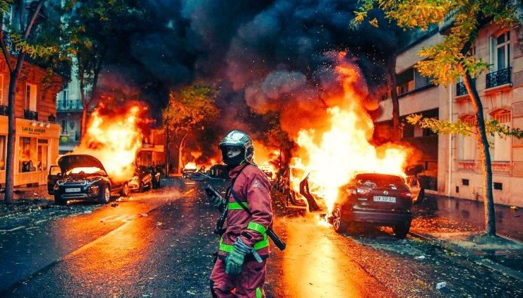 Chaos et guerilla à Paris