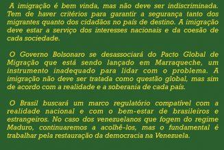 Le Brésil va renoncer au pacte sur les migrants de Marrakech