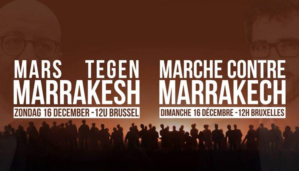 Bruxelles : les manifestants contre le pacte de Marrakech s'en prennent à la Commission européenne