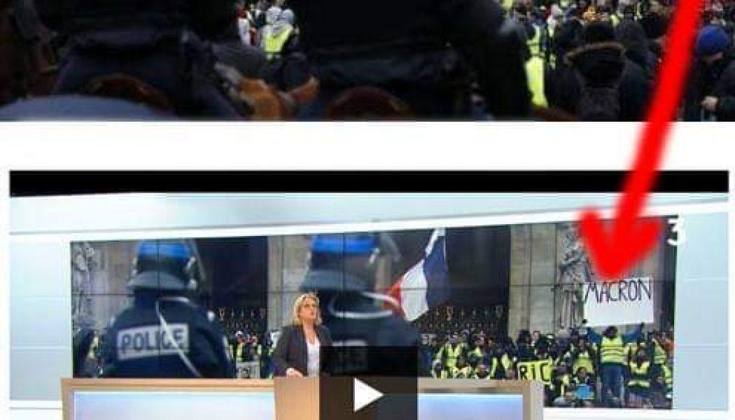 Désinformation de France 3: l'auteur de la pancarte saisit le CSA