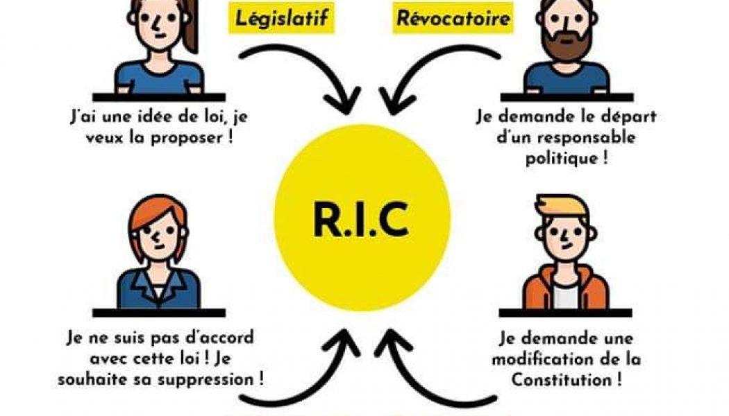 RIC : Le Référendum d'initiative citoyenne
