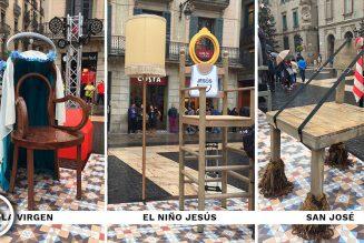 La « crèche » blasphématoire de Colau en Espagne