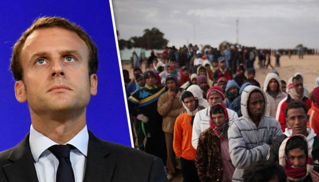 Macron veut que l'UE sanctionne les pays réfractaires à l'invasion migratoire