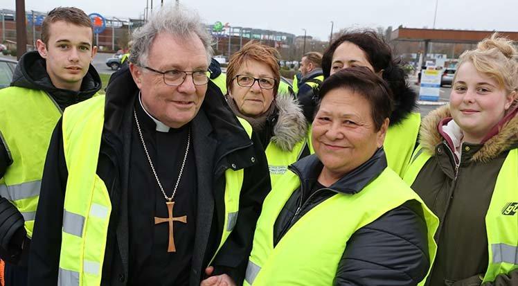 Mgr Ginoux, évêque de Montauban, encourage la Marche Pour La Vie