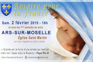 À quoi servent les «rosaires pour la vie» ?