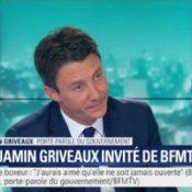 """Benjamin Griveaux refuse que les Français débattent de l'IVG, de la peine de mort ou du """"mariage pour tous"""""""