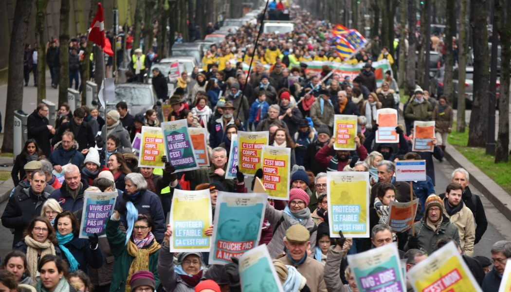 Photos de la Marche pour la vie