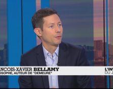 Bellamy : l'homme des valeurs enracinées cerné par le relativisme et la morale du temps