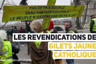 Les revendications des gilets jaunes catholiques