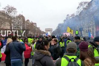 Acte VIII des Gilets jaunes en direct, à Paris
