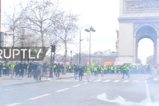 Gilets jaunes : Acte IX en direct de Paris