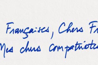 Un président réduit à écrire une lettre pour renouer une confiance qu'il a bafouée