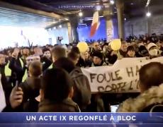 Gilets Jaunes : un acte IX regonflé à bloc