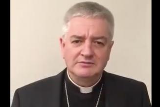 Mgr Aillet encourage et bénit tous ceux qui participeront dimanche à la Marche Pour La Vie