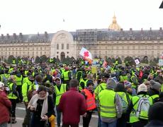 Gilets Jaunes : Acte X en direct à Paris