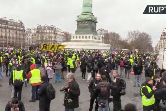 Gilets jaunes : Acte XI en direct à Paris
