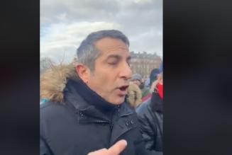 Francis Pourbagher, condamné en 2006 à six mois de prison avec sursis, n'est pas un troll pro-Macron