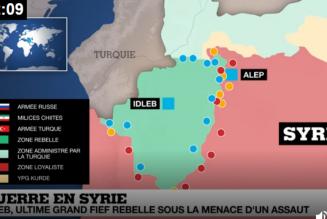Les islamistes contrôlent la province d'Idleb au nord-ouest de la Syrie