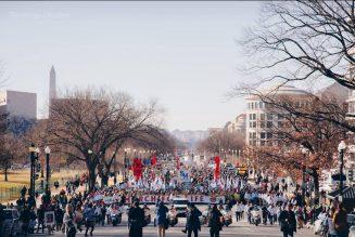 Nouveau succès de la Marche pour la vie à Washington, avec un message de Donald Trump