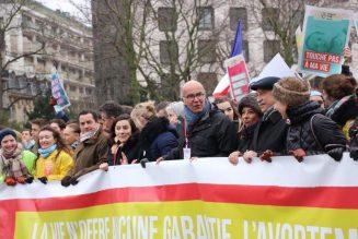 La CFTC participait à la Marche pour la vie