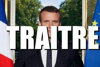 La trahison Macron : vous avez aimé le traité d'Aix la Chapelle ? Vous allez adorer l'assemblée parlementaire franco-allemande !