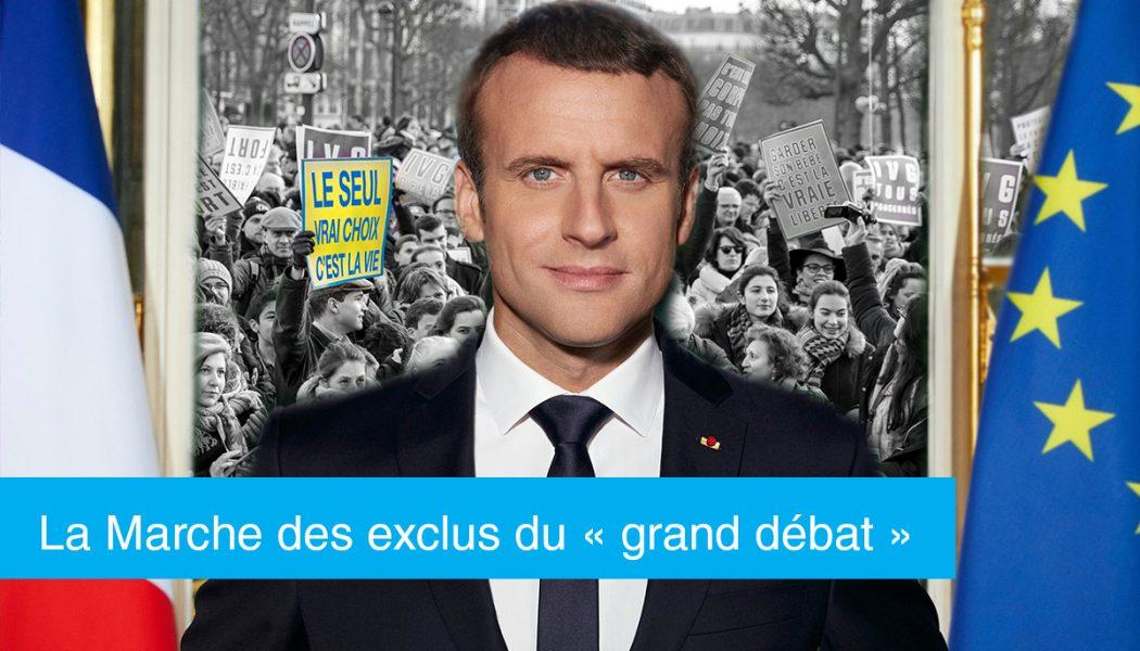 La Marche des exclus du « grand débat national »