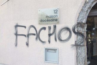 Grenoble : ce n'est pas un court-circuit qui a vandalisé la maison du diocèse…