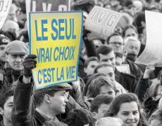 Marche pour la vie : Message à Marlène Schiappa