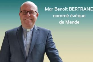 Mgr Bertrand, nouvel évêque de Mende