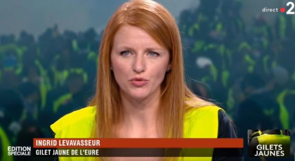 """Finalement la """"gilet jaune"""" Ingrid Levavasseur renonce aux européennes"""