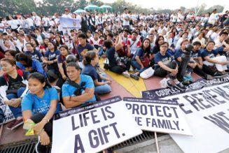 3e Marche pour la vie aux Philippines