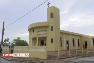 Une nouvelle église à Cuba