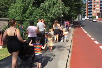 Gay-pride en maternelle