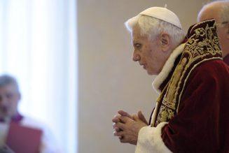 Messagedu Cercle Joseph Ratzinger / Pape Benoît XVI sur «Les défis actuels du ministère ordonné dans l'Eglise»