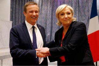 Nicolas Dupont-Aignan ne veut pas d'un 2ème tour entre Emmanuel Macron et Marine Le Pen en 2022
