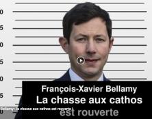 I-Média – Bellamy, tête de liste LR : la chasse aux cathos est (ré)ouverte