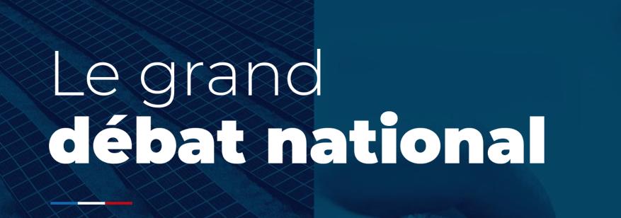 """""""Grand débat national"""" : faire entendre notre voix"""